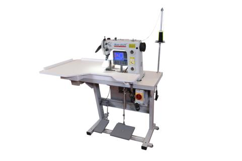 100/5 WORK STATION FOR SETTING SLEEVES WITH STEP MOTOR-DRIVEN FEED