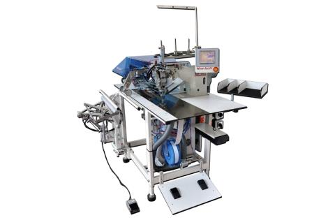 AUTOMATIC POCKET WELTING MACHINE FOR TROUSERS (With or Without Flap)